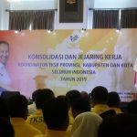 Menteri Sosial  Hadiri Konsolidasi  dan Jejaring Tenaga Kerja  Sosial Kecamatan (TKSK) Seluruh Indonesia